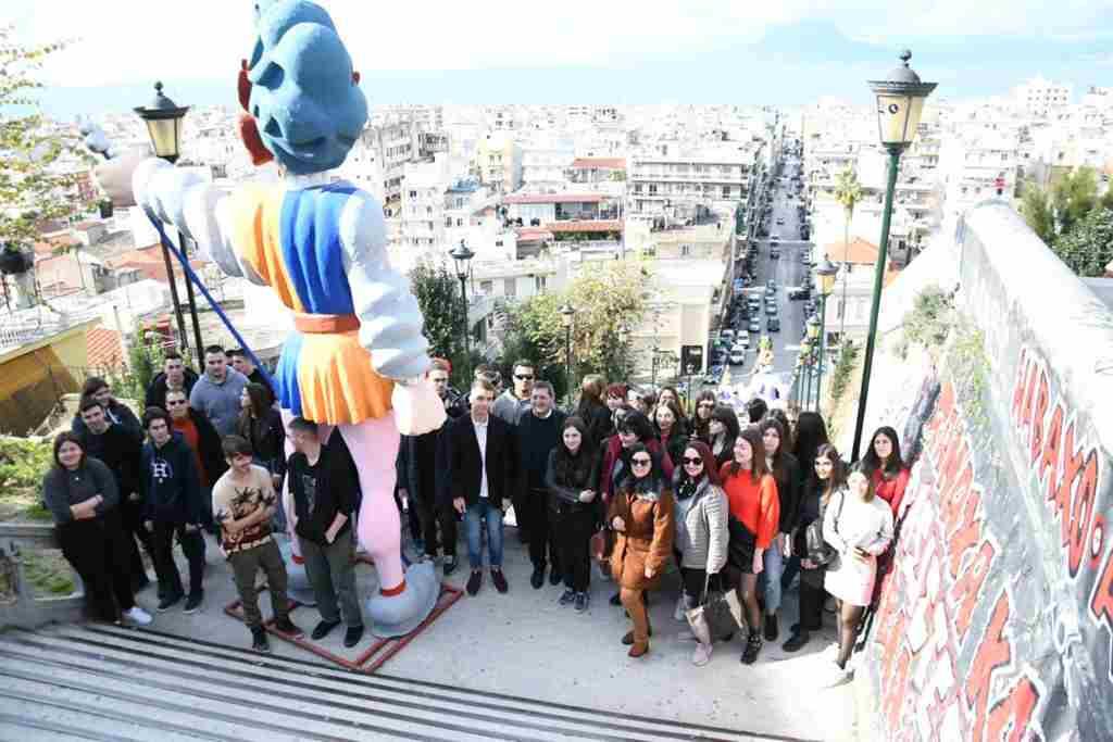 Μαθητές από το Κιλκίς : Δήμαρχε δείξε μας την Πάτρα…