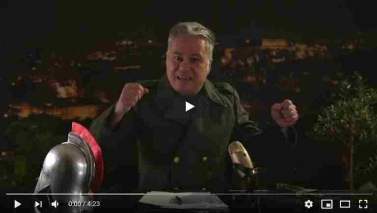 """Χριστόφορος  Ζαραλίκος: """"Είμαστε σε πόλεμο…"""" (video)"""