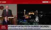 Εξοργιστική φιέστα Ερντογάν – Διάβασαν το Κοράνι μέσα στην Αγιά Σοφιά