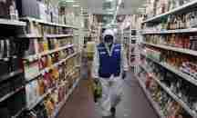 Υποχρεωτική από σήμερα, Σάββατο η χρήση προστατευτικής μάσκας στα super market