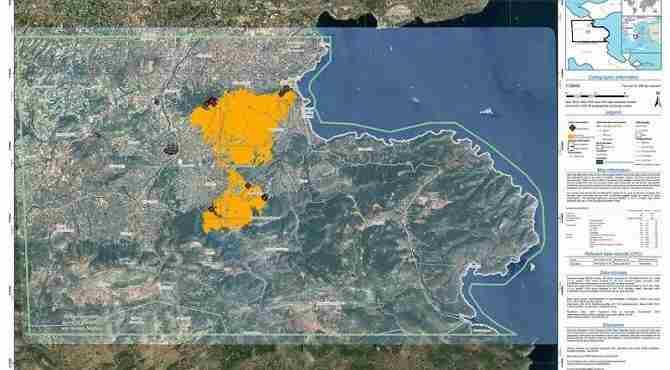 Πάνω από 32 χιλιάδες στρέμματα καμένη γη, ο απολογισμός της πυρκαγιάς στις Κεχριές