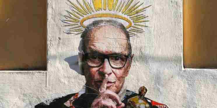 Μια τοιχογραφία στην καρδιά της Ρώμης αφιερωμένη στον Ένιο Μορικόνε