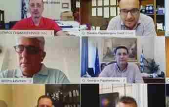 Ο Σταματόπουλος στην Επιτροπή Διαλόγου της ΚΕΔΕ με την Κυβέρνηση ,για έργα που θα χρηματοδοτηθούν από το Ευρωπαϊκό Ταμείο Ανάκαμψης
