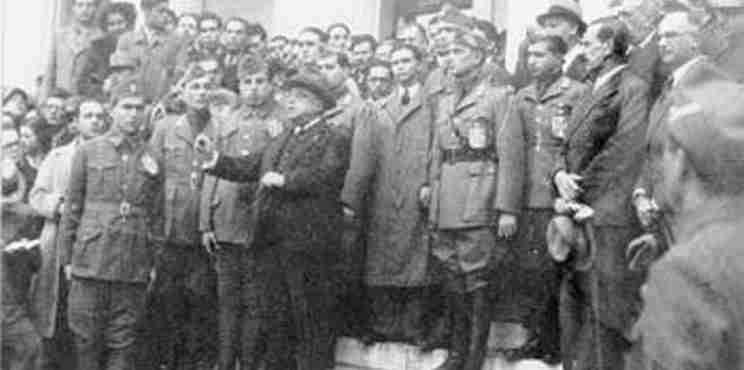 Στις 4 Αυγούστου 1936 κηρύχτηκε η δικτατορία Μεταξά