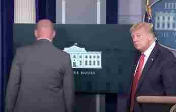 Πυροβολισμοί έξω από τον Λευκό Οίκο διέκοψαν τη συνέντευξη Τύπου του Τραμπ