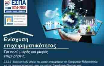 Παράταση και προσθήκη νέων ΚΑΔ σε επιδοτούμενο πρόγραμμα πολύ μικρών και μικρών επιχειρήσεων