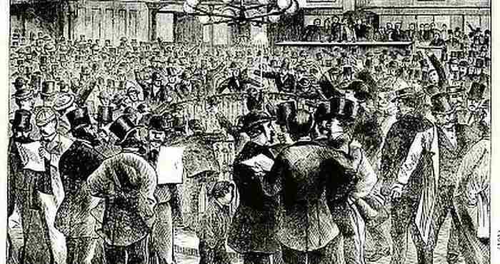 24 Σεπτεμβρίου 1869 : Η «Μαύρη Παρασκευή» της Wall Street