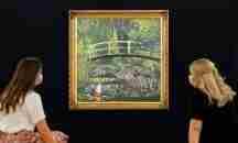 """Σε ζωντανή δημοπρασία σύγχρονης τέχνης το έργο του Banksy """"Show me the Monet"""""""