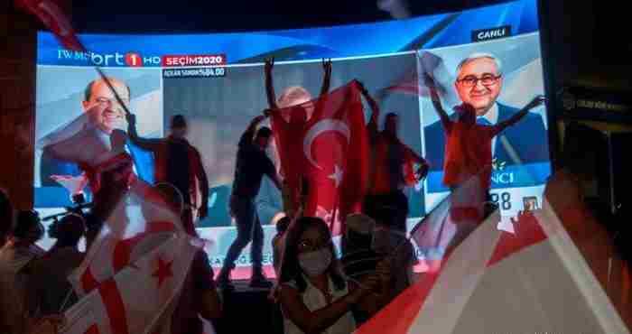Νίκη Τατάρ και Ερντογάν στις εκλογές των Τουρκοκυπρίων