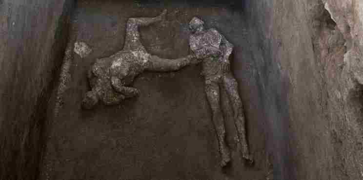 Πομπηία: Στο «φως» τα λείψανα δύο ανδρών , ενός πλούσιου κι ενός σκλάβου