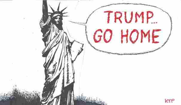 TRUMP…GO HOME