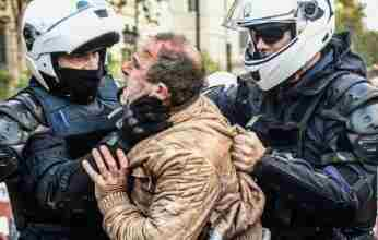 Άθλια επίθεση της αστυνομίας στη διαδήλωση του  ΚΚΕ