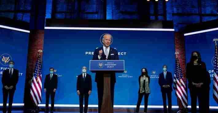 Τζο Μπάιντεν : Κυβερνητικό σχήμα με ζητούμενο τον «ηγετικό ρόλο» των ΗΠΑ