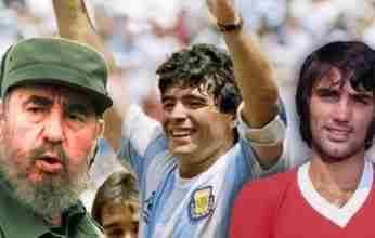 25η Νοεμβρίου: Η μέρα που «έφυγαν» Φιντέλ Κάστρο, Τζορτζ Μπεστ και Ντιέγκο Μαραντόνα