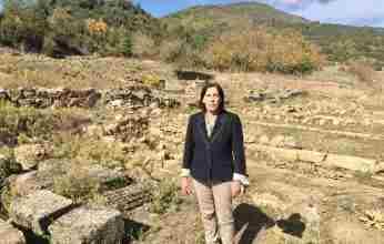 Το ενδιαφέρον της για το πολιτιστικό τοπίο του Φενεού εξέφρασε η Αθηνά Κόρκα κατά την επίσκεψή της στην περιοχή