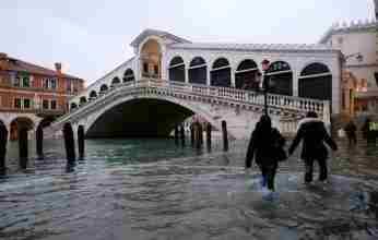 Πλημμύρισε η Βενετία – «Αιφνιδιάστηκε» το σύστημα φραγμάτων