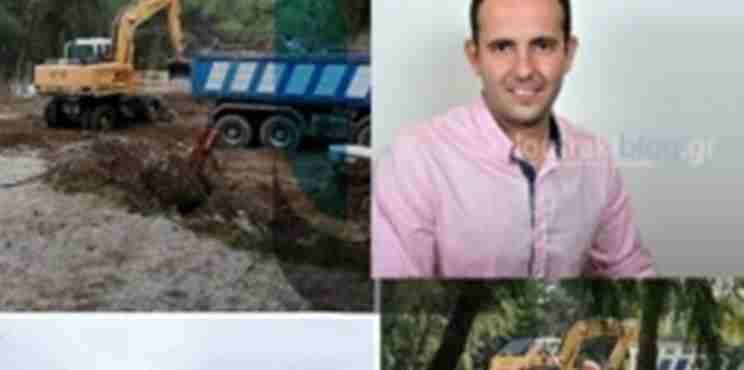 Λουτράκι: Δημότης επιτέθηκε με «σπαθί» στον αντιδήμαρχο Κ. Παντελέου
