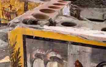"""Ένα αρχαίο """"φαστ φουντ"""" έφερε στο φως η αρχαιολογική σκαπάνη στην Πομπηία"""