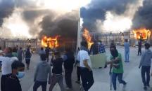 Ξέσπασμα οργής των μεταναστών από την αυτοχειρία 24χρονου στο κέντρο κράτησης Κορίνθου
