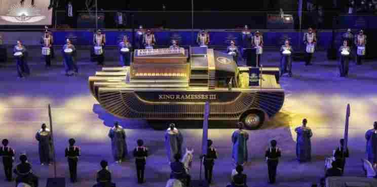 Η «χρυσή παρέλαση» για τη μεταφορά των Φαραώ στο νέο μουσείο στο Κάιρο