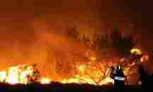 Μεγάλη φωτιά στον ΣχίνοΛουτρακίου
