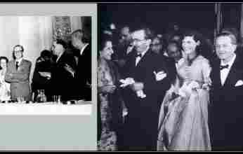Στις 28 Ιούνη 1956, στη Βιέννη, ο Νίκος Καζαντζάκης τιμήθηκε με το Διεθνές Βραβείο Ειρήνης