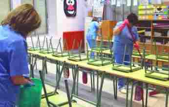 Σχολικές καθαρίστριες:«για μια ακόμη φορά είμαστε στον αέρα»