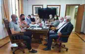 Το πρόβλημα με τη Διώρυγα στην ατζέντα της επίσκεψης του Πέτρου Τατούλη στο Δημαρχείο στο Λουτράκι