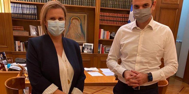 Στον στενό πυρήνα του πρωθυπουργού η  Μαριλένα Σούκουλη