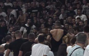 Τα Βαλκάνια δυστυχώς παραμένουν… οπαδοί της Παρτιζάν πλακώθηκαν στο «αντίο» Ίβκοβιτς (vid)