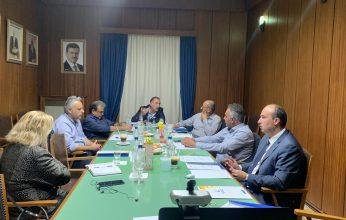 Υπό την προεδρεία του Παναγιώτη Πιτσάκη πραγματοποιήθηκε στην Κόρινθο η Συνεδρίαση του ΠΕΣΠ